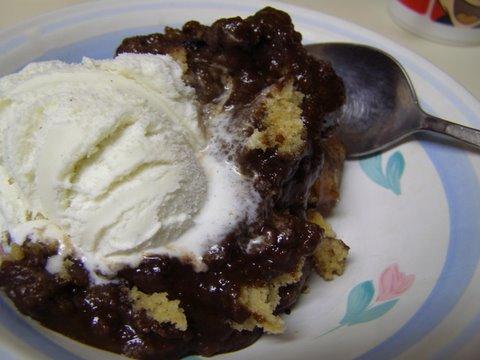 Hot Fudge Peanut Butter Pudding Cake — Cooking During Stolen Moments