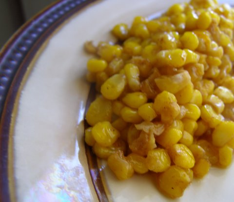 Skillet Corn — Cooking During Stolen Moments