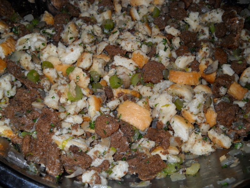 Simple Homemade Stuffing — Cooking During Stolen Moments