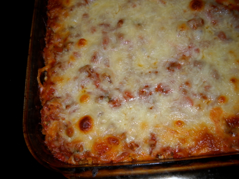 Baked Spaghetti Casserole — Cooking During Stolen Moments