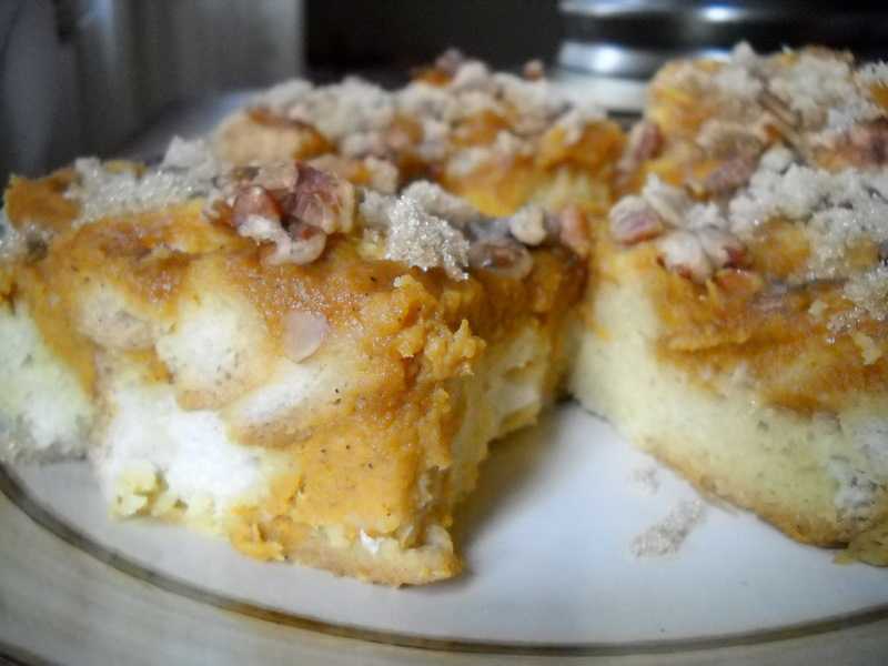 Pumpkin Pie Baked French Toast — Cooking During Stolen Moments