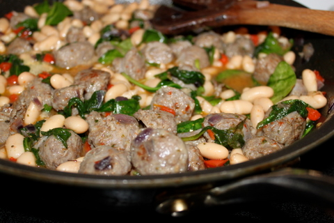 Frittata With Italian Sausage And Cannelli Beans Recipes — Dishmaps