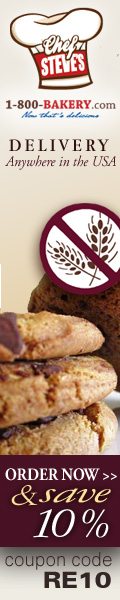 1-800-Bakery.com Gluten Free Desserts 10% Off