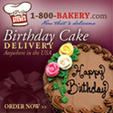 1-800-Bakery.com Birthday Cake