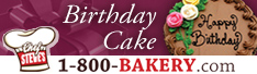 1-800-Bakery.com Birthday Cakes
